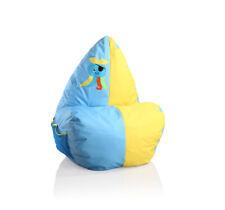 Kinder Sitzsack Sitzkissen Sitz Sack Kissen Kindersitzsack Blau Gelb Oktopus