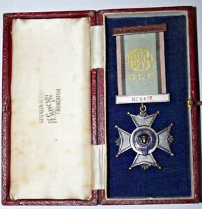 Bronze R.A.O.B MEDAL GLE Algoa-Protea LODGE No.6613 H.Salingsby LTD Box