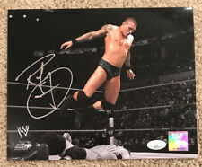 RANDY ORTON Signed Autographed Wrestling WWE WWF 8x10 Photo JSA HH07513