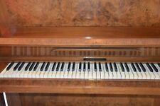 Grotrian-Steinweg Klavier Nussbaum poliert. SERIENNUMMER 10424 - Baujahr 1898