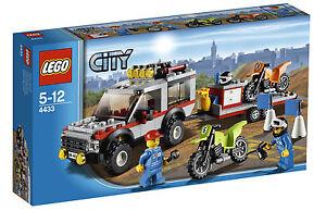 LEGO City Dirt Bike Transporter (4433)
