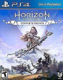 Horizon: Zero Dawn (Sony PlayStation 4, 2017, Complete Edition)