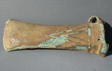 LARGE Bronze Age European Socket Axe Head, 1200 B.C., or 3200 years old!
