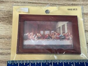 dollhouse miniature - the Last Supper - painting 1:12