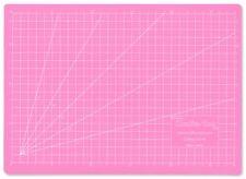Artigianato 5 Strati PVC A4 tappetino di taglio guarigione tappetino Rosa Griglia Quilting Cucito