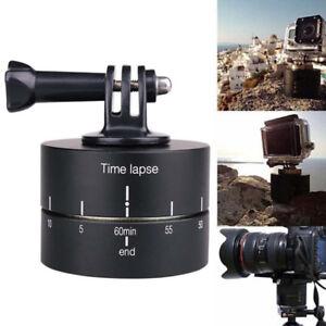 Go pro DSLR Time Lapse Stabilizer 360 Degrees Panning Rotating Tripod Adapte FJ
