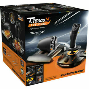 🔥Thrustmaster T16000M🔥 FCS Hotas Flight Stick and Throttle Ships Same Day ✈️