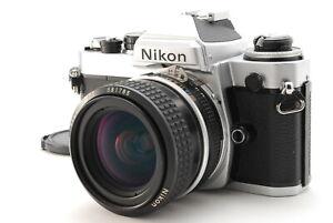 MINT/ Nikon FE + AI NIKKOR 28mm F2.8 SLR Film Camera from Japan #1375