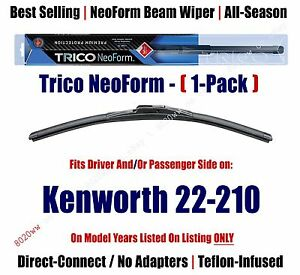 Super Premium NeoForm Wiper Blade (Qty 1) fits 1989 Kenworth 22-210 - 16180