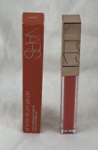 NARS Afterglow Lip Shine Gloss ~ EGOISTE ~ .17 Oz / 5.5 mL Glossy Bright Peach