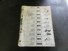 Michigan L90B Loader Parts Catalog Manual