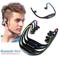 Wireless Earphone Bluetooth Headset Stereo Sport Earbuds Sweatproof Earphone