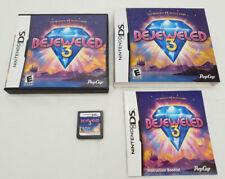 Bejeweled 3 III DS Complete SUPERB Nintendo CIB slipcover sleeve cover bejewled