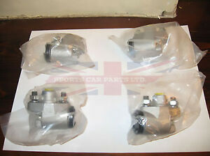 Set of Four Front Wheel Cylinders for MG TD TF T Series
