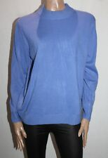 Jillian Brand Lilac Crew Neck Soft Knit Long Sleeve Pullover Size 16 BNWT #TM48