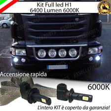 LAMPADE PER FENDINEBBIA LED SCANIA SERIE R LAMPADE A LED H1 NO AVARIA LUCI 6000K