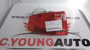 AUDI A4 LEFT TAILLIGHT B7 (A4/RS4), CABRIO, 07/2006-07/2009