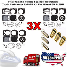 """YAMAHA LS2000 CARBURETOR REBUILD KIT WITH NEEDLE AND SEAT """"THE BEST DEAL"""""""