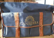Canberra Mens Large Holdall Travel Sports Luggage Canvas