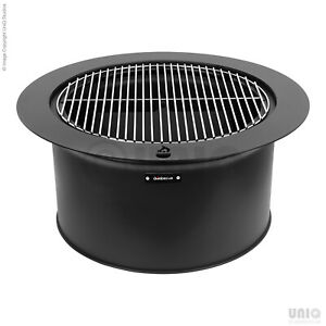 DRUMBECUE BRAND NEW FIRE PIT CHARCOAL BBQ  DRUM GRILLER