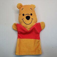 "Disney Melissa and Doug Winnie the Pooh Hand Puppet 10"""