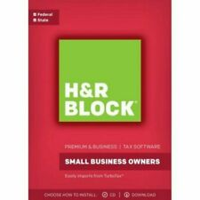 2017 H&R Block PREMIUM & BUSINESS Brand New sealed ships NEXT DAY with tracking