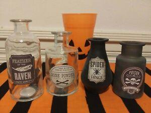 Target Bullseye's Playground Halloween Potion Bottles New Fall 2020 Lot of 4