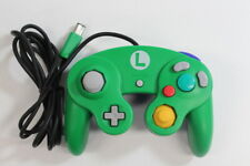 Official Club Nintendo GameCube Controller Luigi Green Blue Wears OEM TIGHT T3