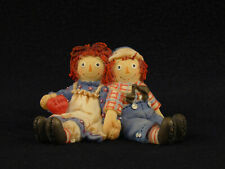 """New listing Simon & Schuster Raggedy Ann & Andy """"Forever True"""" Figurine"""