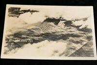 RANDOLPH FIELD , TEXAS 1940s REAL  PHOTO Postcard Birdseye View