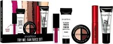 5 Pc Set! Smashbox Try Me Fan Faves Deluxe Szs Shadows Lip Mascara Primers
