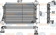 HELLA Radiador de aire admisión para VW GOLF SEAT ALTEA AUDI 8ML 376 746-151