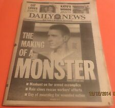 4/23/1995 - NY NEWSPAPER - FED. BLDG. BOMBING IN OKLAHOMA - TIMOTHY MCVEIGH HELD