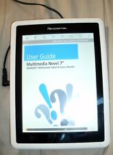 Pandigital Novel PRD07T10WWH7 1GB Wi-Fi 7in White Used Ipad eBook Reader Android