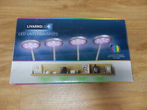 LED-Unterbauspots Schrankleuchten 4er LED LIVARNO LUX