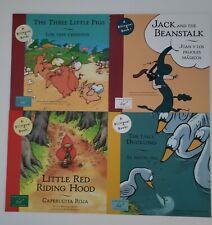 Bilingual Children's Books - Set Of 4 - English & Spanish - 4 Children's Stories