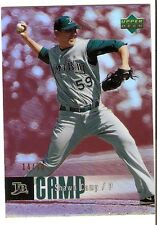 SHAWN CAMP RED ROOKIE SERIAL #/50 2006 UPPER DECK SPECIAL F/X 827 TAMPA BAY RAYS
