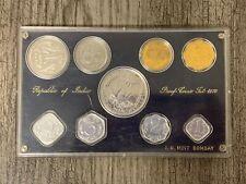 1970 INDIA COINS  9 PIECE PROOF SET ORIGINAL CASE