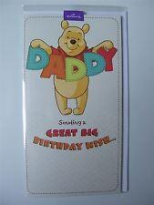 Disney Pooh Bear Birthday Card for a Daddy (father) by Hallmark - 11350954