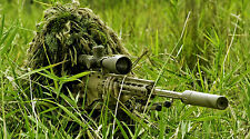 "SNIPER GHILLIE SUIT REMINGTON SNIPER RIFLE 24"" x 43""  LARGE WALL POSTER PRINT"
