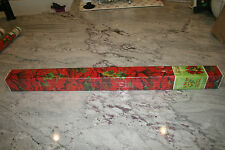 """NEW Vintage Mid Century Christmas Gift Wrapping Paper 40 sq.feet 5yd.1ft.x2'6"""""""