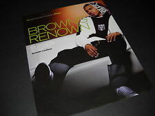 Chris Brown is Top Pop Artist Of Year 2008 Promo Poster Ad mint condition