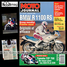 MOTO JOURNAL N°1071 BMW R 1100 RS, YAMAHA YZF 750, PATON 250, YVES REGNIER 1993
