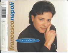 FRANCESCO NAPOLI - Nur Mit Gefühl CDM 3TR Italo Disco 1997 RARE!!