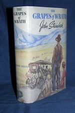 THE GRAPES OF WRATH John Steinbeck First Edition, 1st Print, 1939