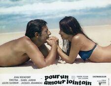 JEAN ROCHEFORT CRISTINA  JARDIM POUR UN AMOUR LOINTAIN 1968 PHOTO D'EXPLOITATION
