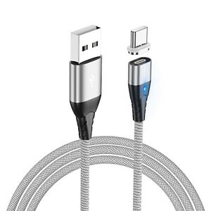 3 in 1 3A Magnetic Fast Charging Cable Data transfer Adjust Type-C Micro USB