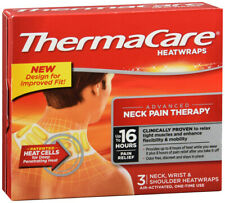 ThermaCare Heatwraps Neck Shoulder and Wrist 3 Count