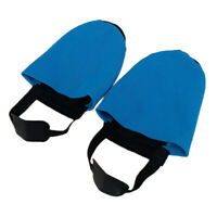 1 Pair Sports Bowling Shoe Soft Slider Protector Cover - Blue