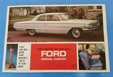 Vintage Ford Dealership Poster Brochure Advertisement Ford Cars of the Year Sale